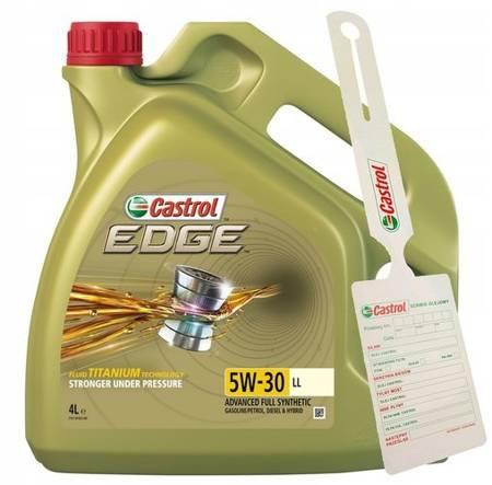 Olej silnikowy Castrol EDGE FST 5W/30 4L