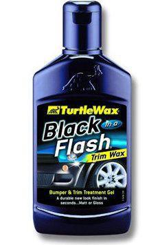 Turtle Wax Black In a Flash mleczko do renowacji plastików 300ml