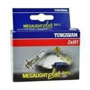 Żarówka H1 Tungsram MegaLight Plus 50% - 2szt
