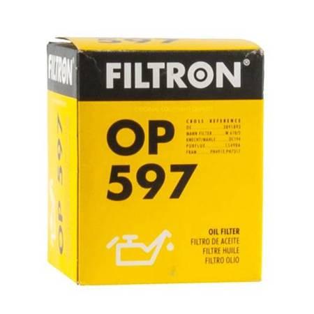 FILTRON filtr oleju OP597 - Mazda 626 1.6,1.8i,2
