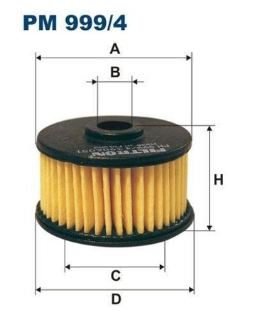 Filtr do instalacji gazowych  PM 999/4 - MEDA