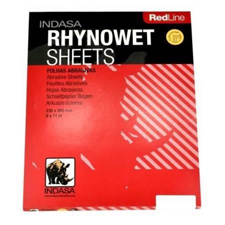 Indasa Red Line - wodny papier ścierny P2000