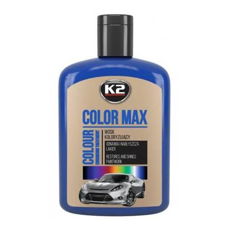 K2 Color Max wosk koloryzujący Niebieski 200ml