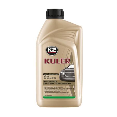 K2 Kuler koncentrat płynu do chłodnic samochodowych Zielony 1L