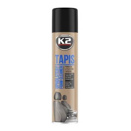 K2 Tapis pianka do czyszczenia i prania tapicerki spray 600ml