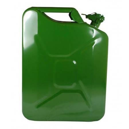 Kanister metalowy na paliwo benzynę olej 20L