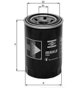 Knecht filtr oleju OC223 - Renault Diesel/Jeep Cherokee 2,1TD/4,0 88-