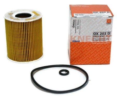 Knecht filtr oleju OX203D ECO - Ford Mondeo III 2,5 V6 24V 01-
