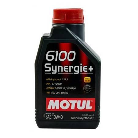Olej Motul 6100 SYNERGIE+ PLUS 10W/40 1 L