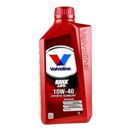 Olej silnikowy Valvoline MaxLife 10W/40 1L