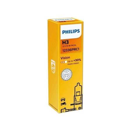 Żarówka samochodowa H3 Philips VisionPlus +30% - 1szt