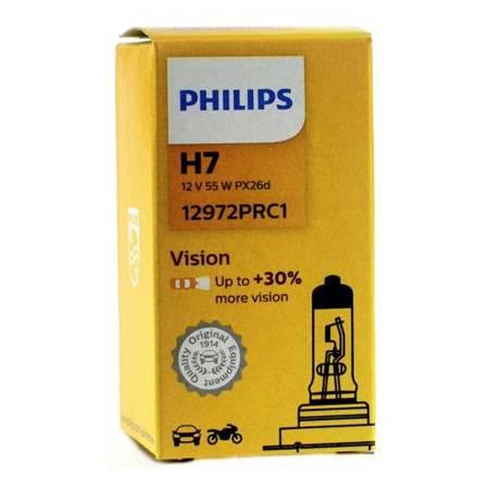 Żarówka samochodowa Philips H7 Vision Plus 30% - 1szt